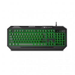 TECLADO BG-GAMING FOX NEGRO LED/10 TECLAS MULTIMEDIA/USB BGFOX