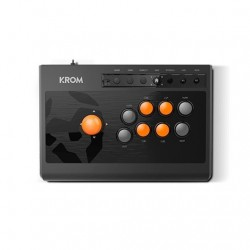 GAMEPAD KROM KUMITE ARCADE STICK 8BOTONES/CABLE 1.8M/COMPATIBLE PC,PS3,PS4,XBOX ONE NXKROMKMT
