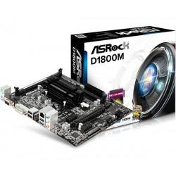 Asrock D1800M, DIMM, DDR3-SDRAM, Dual, Intel, PC, UEFI AMI