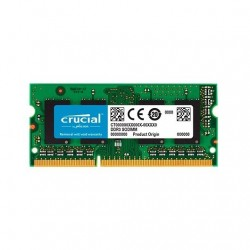 MODULO S/O DDR3 4GB PC1600 CRUCIAL RETAIL CL11/NON ECC/1.35V CT51264BF160B