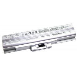 Sony 5200MAH VGP-BPS13 VGP-BPS21 Plata