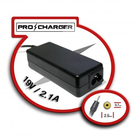 Carg. 19V/2.1A 2.5mm x 0.7mm 36w Pro Charger