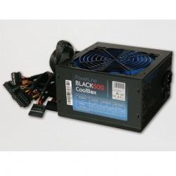 Fuente alimentacion coolbox powerline black-500 500w