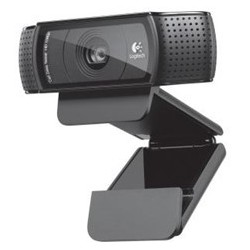 Webcam logitech c920 negra full hd