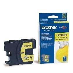 Cartucho tinta brother lc980y amarillo 260