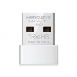 ADAPTADOR WIFI USB 2.0 MERCUSYS MW150US 150MBPS