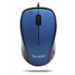 Raton Wired 2.0 USB Azul Biwond