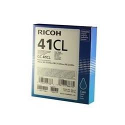 Cartucho gel ricoh gc - 41ci cian (600