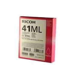 Cartucho gel ricoh gc - 41mi magenta (600