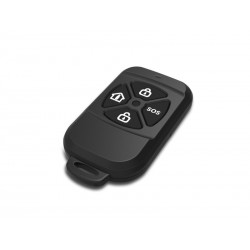 Security Mando Inalámbrico Alarma GSM Protect Negro