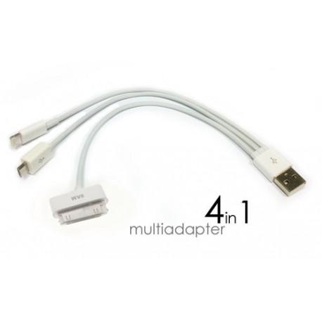 USB 4in1 iPhone iPad Samsung Blackberry