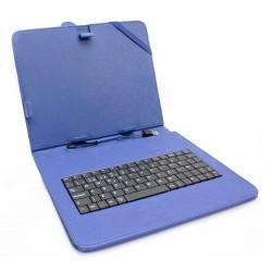 """Funda Tablet Teclado 8"""" Azul"""