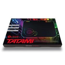 Talius - Alfombrilla Tatami - Gaming - Iluminación LED RGB