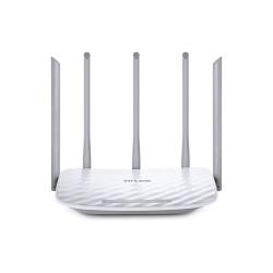 TP-Link - Router Archer C60 - Dualband AC1350 2.4Ghz (450mbps) + 5Ghz (867Mbps) - LAN 10/100 + WAN 10/100