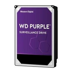 Western Digital Purple - disco duro videovigilancia - WD60PURZ - 6 TB - SATA 6Gb/s - 5400 rpm - búfer: 64 mb