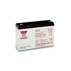 Yuasa - Batería Recargable - Celda Única - 6V - Plomo y Ácido - 10 Ah