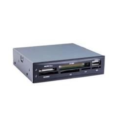 """Tooq - Lector de tarjetas 3.5"""" + USB 2.0 negro"""