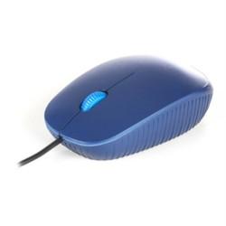 NGS FLAME BLUE - Raton óptico con cable 1000 Dpi - rueda - tamaño estandar - Azul