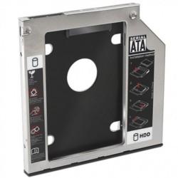 Nanocable - Adaptador de disco duro de 7,0MM para bahía de grabadora de portátil de 9,5MM