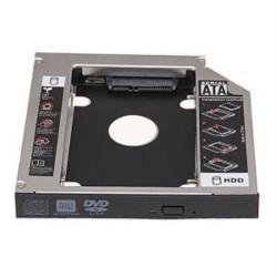 Nanocable - Adaptador de disco duro de 9,5MM para bahía de grabadora de portátil de 12,7MM