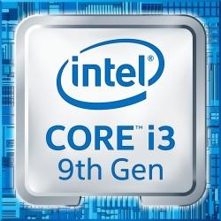 Procesador 1151 Intel Core i3 9100F - 3.6 GHz - 4 núcleos - 4 hilos - 6 MB caché - Sin gráfica - Caja