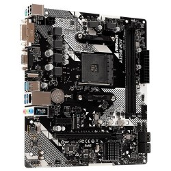 Placa base AM4 microATX Asrock A320M-HDV R4.0 - 2xDDR4 (hasta 32 GB 3200 Mhz OC) - 4xSATA RAID - 1 x M.2 - USB 2.0 (2/4)