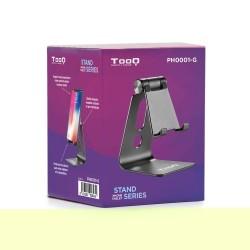 Tooq - Soporte sobremesa ajustable para teléfono / tablet