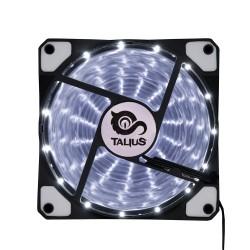 Talius - Ventilador caja 12cm - FAN-03 - LEDs - Blanco