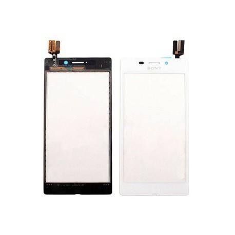 Pantalla Táctil Sony Xperia M2 Aqua Blanco