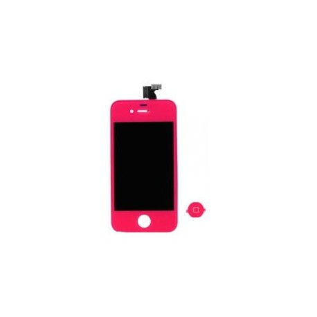 Pant. Tactil + LCD Fucsia iPhone 4