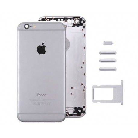 Carcasa Trasera iPhone 6 Plus Plata