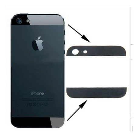 Embellecedor Negro iPhone 5