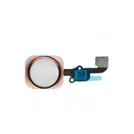 Cable Flex+Boton Home Iphone 6S/6S Plus Rosa