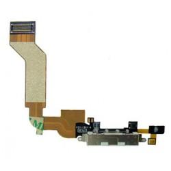 Conector Carga/Datos+Micrófono iPhone 4S Blanco