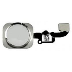 Cable Flex+Boton Home Iphone 6 Plata
