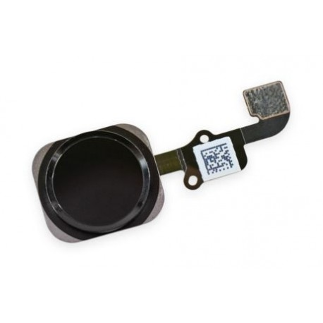 Cable Flex+Boton Home Iphone 6S/6S Plus Negro