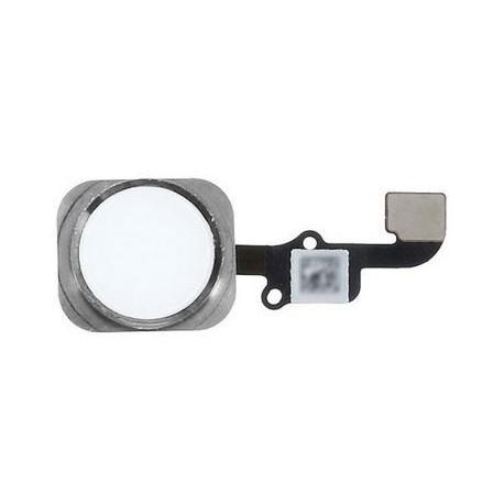 Cable Flex+Boton Home Iphone 6 Plus Plata