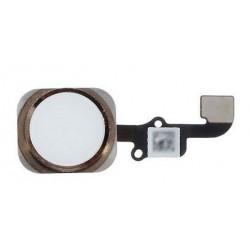 Cable Flex+Boton Home Iphone 6 Plus Oro