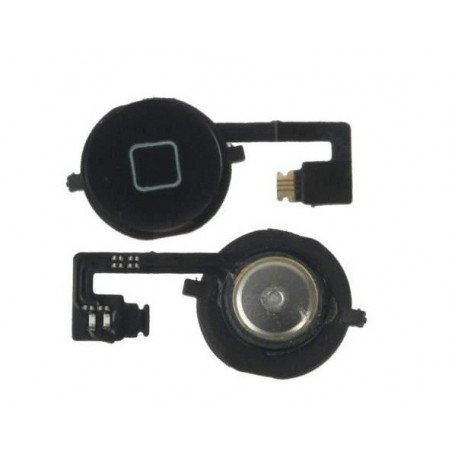 Boton Home con Flex iPhone 4S Negro