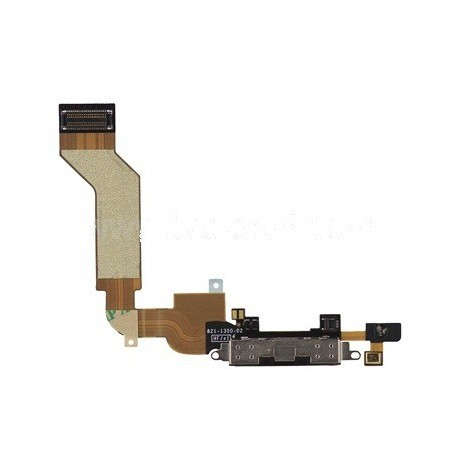 Conector Carga/Datos+Micrófono iPhone 4S Negr2