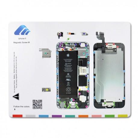 Alfombrilla Magnética Despiece Iphone 6