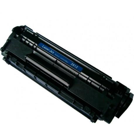 Toner HP 12A 2612A/FX 9/FX10/104/CRF703 Negro (Reman.)
