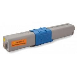 Toner OKI C510 Amarillo (Reman.)