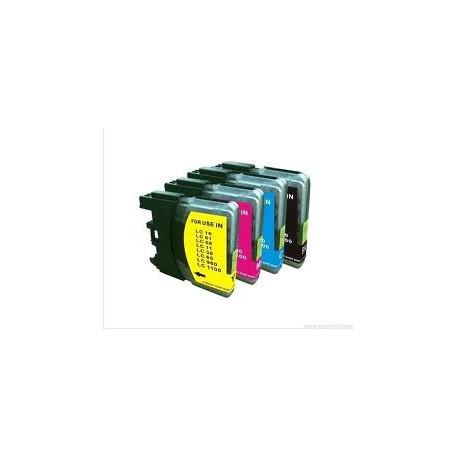 Cart. Brother LC1100/980 Cyan 13ml (reman.)