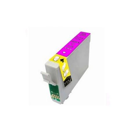 Cart. Epson T0713/0893 VI Magenta 15ml (reman.)