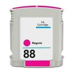 Cart. HP 88 Magenta (reman.)