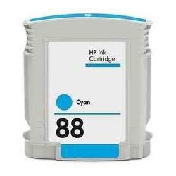 Cart. HP 88 Cyan (reman.)