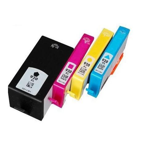 Cart. HP 920 XL Negro (reman,)