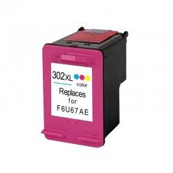 Cart. HP 302 XL Color (reman.)