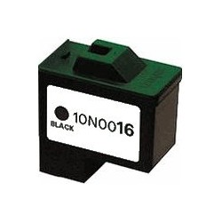 Cart. Lexmark 16 10N0016 Negro 15ml (reman.)